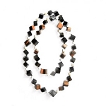 BKO184WATER BUFFALO HORN NECKLACE